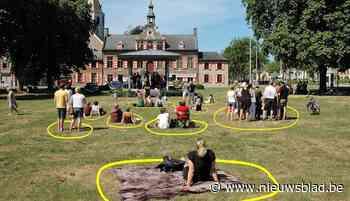 Vlaamse feestdag in veilige bubbels (Kaprijke) - Het Nieuwsblad