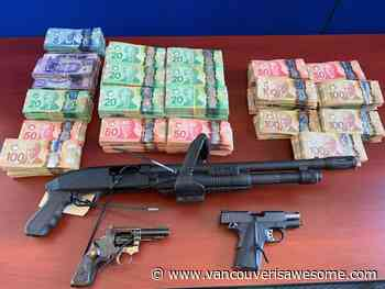 Guns, cash and illegal cannabis seized by Port Moody police - Vancouver Is Awesome
