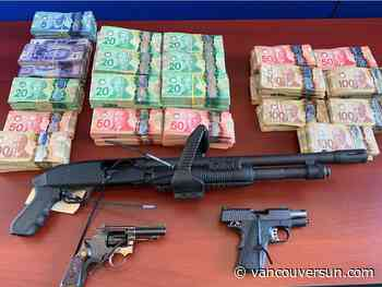 Port Moody police seize $800,000 worth of drugs, cash and guns - Vancouver Sun