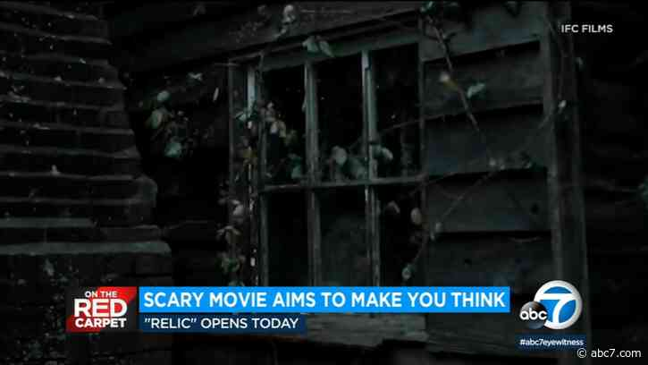 Actress Emily Mortimer gives an inside look at new horror movie 'Relic' - KABC-TV