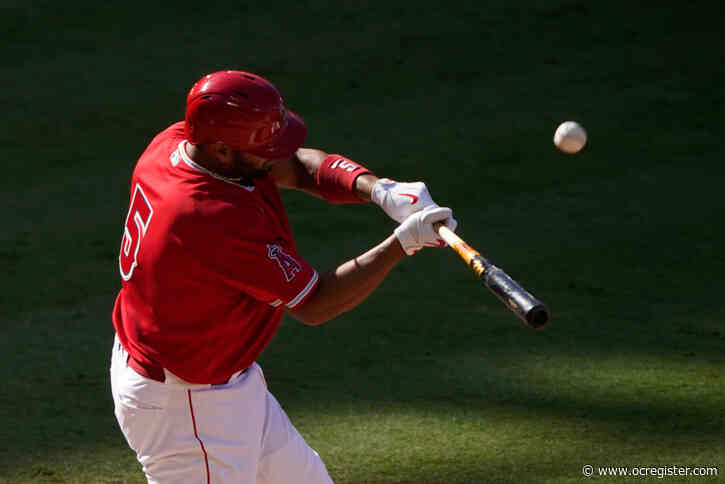 Angels' Albert Pujols feeling healthy after time off
