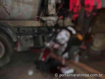 Motociclista morre após colidir com caminhão em Itapemirim - Portal Maratimba