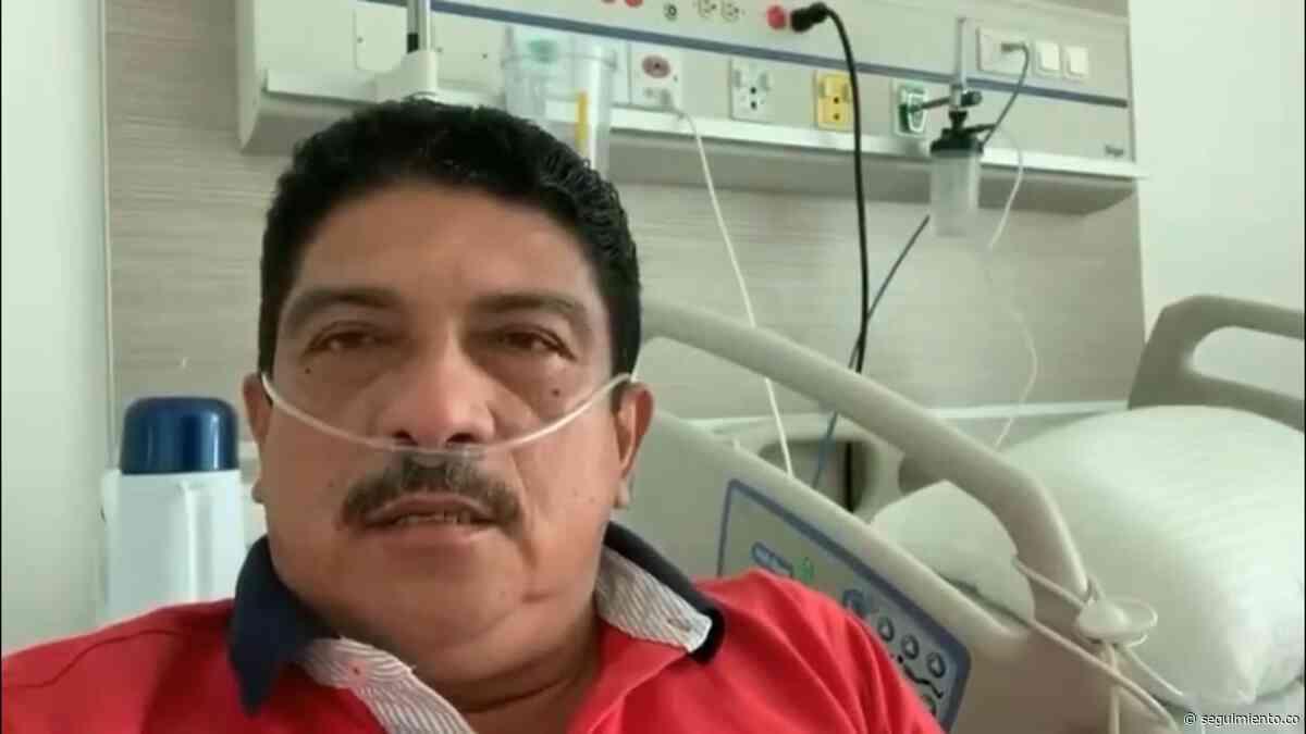 Alcalde de Sitionuevo, contagiado de Covid-19, envía un mensaje de fortaleza a las autoridades - Seguimiento.co