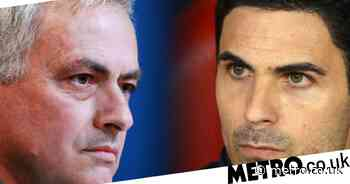 Mikel Arteta responds to Michael Oliver appointment after Jose Mourinho dig - Metro.co.uk