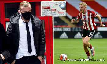 Sheffield Utd striker Oliver McBurnie, 24, admits drink driving 'like iidiot' and is fined £30,000 - Daily Mail