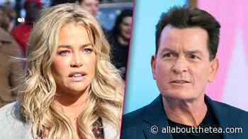 Denise Richards & Ex Charlie Sheen Headed Back to Court Because He Owes $450K in Back Support! - All About The Tea