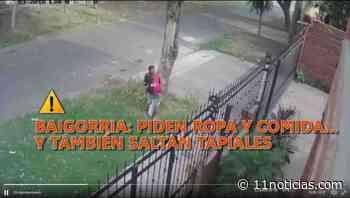 Alertan a vecinos de la región por ladrones que saltan tapiales - 11Noticias