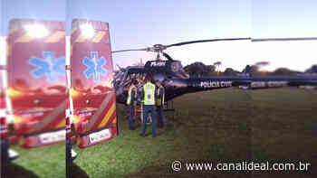 Paciente é transferido pelo SAER de Palmitos para o HRSP de Xanxerê - Canal Ideal