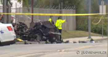Fatal Richmond crash leads to gas leak, evacuations