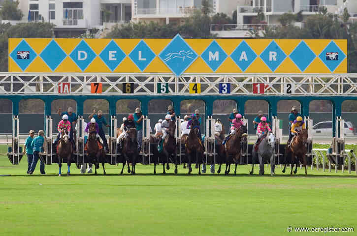 Race horse euthanized after morning workout at Del Mar