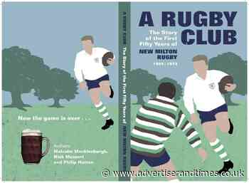 New Milton Rugby Club wind back the clocks with new book - New Milton Advertiser and Lymington Times