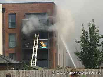 Dog rescued as fire rips through flat at Milton Keynes - Milton Keynes Citizen