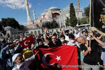 Governo turco reconverte Santa Sofia em mesquita – G1 - Saúde Mental Descomplicada por Bruno Sampaio