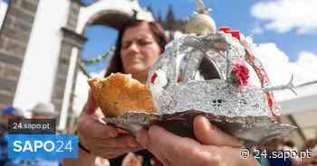 Festas do Espírito Santo de Ponta Delgada assinaladas simbolicamente - SAPO 24