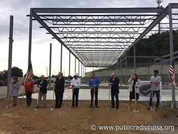 Broken Arrow Holds Groundbreaking for New Restaurant and Retail Development, Tiger Hill Plaza - Public Radio Tulsa