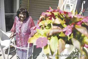 Garden of Eva: 95-year-old gardener tends to Garden of the Month - Meadville Tribune