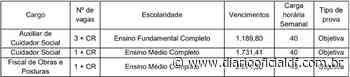 Concurso Prefeitura de Abelardo Luz – SC: Inscrições Abertas - DIARIO OFICIAL DF - DODF CONCURSOS