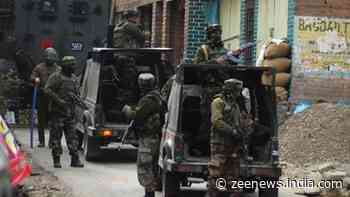Encounter underway between security forces and terrorists in Jammu and Kashmir`s Sopore