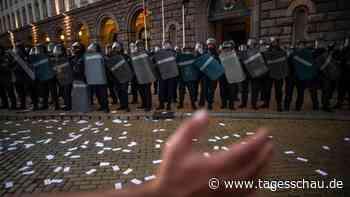 Proteste gegen Regierung in Bulgarien gehen weiter