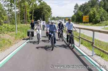 Radschnellweg bei Ehningen - Das Lieblingsprojekt des Verkehrsministers - Stuttgarter Zeitung