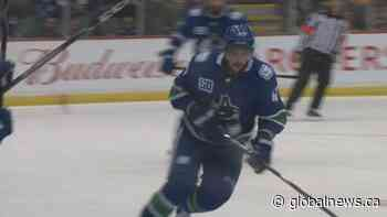 A Vancouver Canuck won't be among those returning to the ice during the NHL playoffs