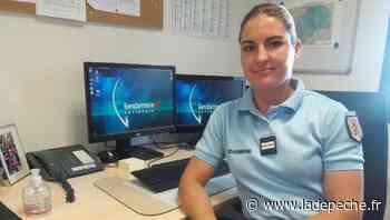 À 23 ans, elle est à la tête d'une unité de quarante gendarmes - LaDepeche.fr