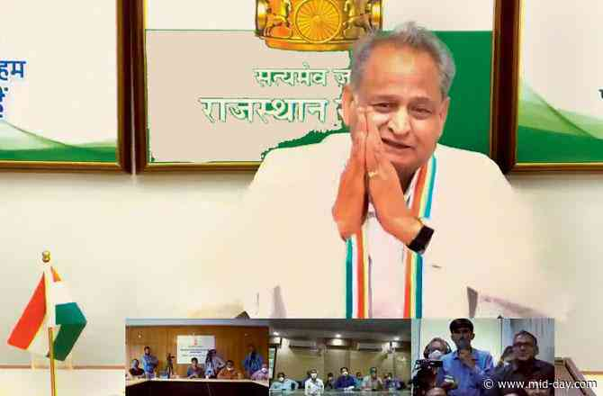Ashok Gehlot accuses BJP of trying to topple his govt