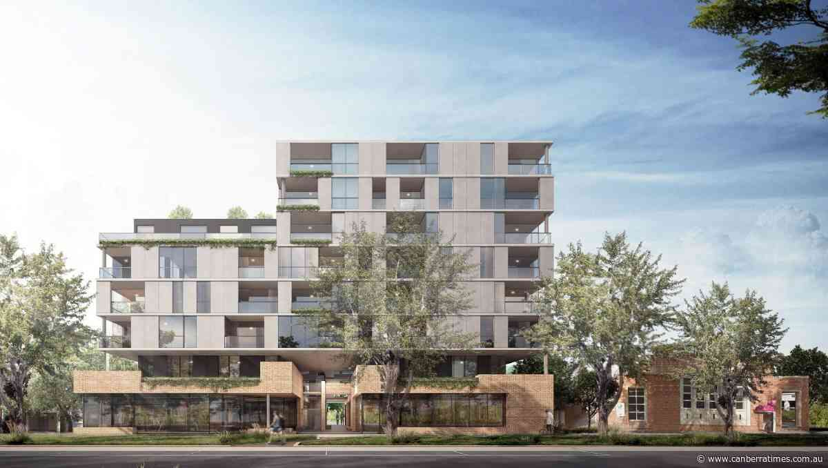 Barr hits out at Geocon's Kingston apartment plans - The Canberra Times