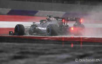Lewis Hamilton holt sich im Regen von Spielberg die Pole - Telebasel