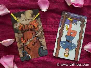 Tarot Thoughts: Hanged Man Vibes for Tower Times - Patheos