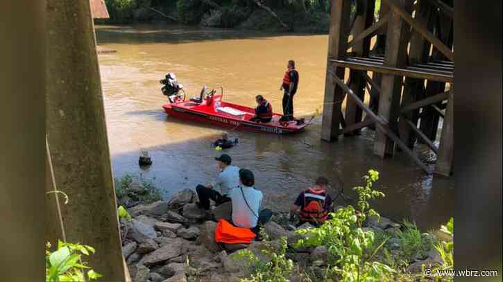 Body of teen who jumped into Amite River found Saturday morning