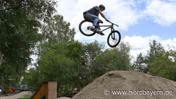 Auf dem Bikerparcours am Silbergrasweg geht wieder was - Nordbayern.de