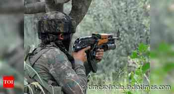 Encounter between terrorists and security forces in J&K's Baramulla