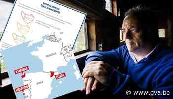 """Marc Van Ranst waarschuwt iedereen met reisplannen: """"Er gaan rode plekken bij komen, er is nu al één vergeten"""" - Gazet van Antwerpen"""