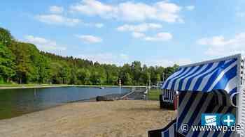 Hilchenbach: Perfekter Sommertag am Müsener Sandstrand - Westfalenpost