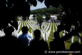 Bosnian-Canadians mark 25th anniversary of Srebrenica massacre - Ponoka News
