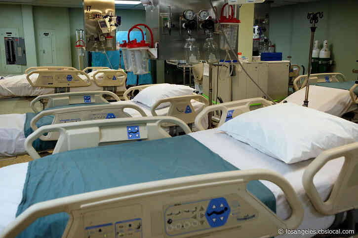 100-Percent Of Riverside County ICU Beds In Use As Officials Work To Convert Regular Beds For Patient Care