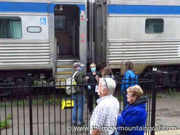 Via rail: first passenger train returns to McBride - The Rocky Mountain Goat