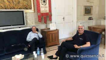 """Provincia Cosenza, Graziano incontra Iacucci: """"tanti cantieri da completare"""" - Quotidiano online"""