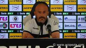"""Italiano: """"Contro il Cosenza con maggior concretezza e attenzione rispetto alle ultime uscite"""" - Spezia Calcio Sito Ufficiale"""