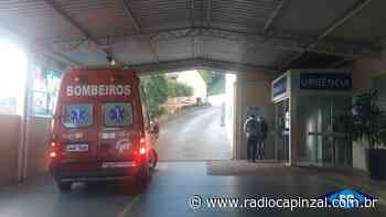 Pedreiro recebe alta médica após cair de escada em Capinzal - Rádio Capinzal