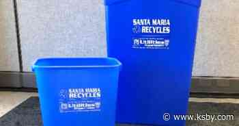 Free indoor recycle bins available for Santa Maria businesses - KSBY San Luis Obispo News