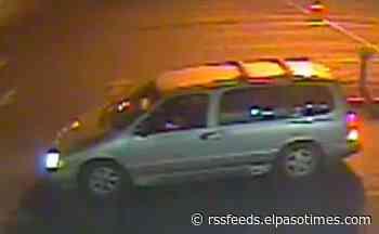 Sally Beauty Supply burglarized in East El Paso, police seek mini-van
