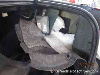CBP officers seize nearly 90 pounds of meth at Bridge of the Americas