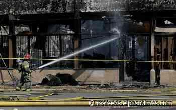 Fire Department battles blaze in Central El Paso