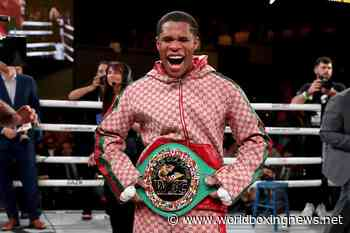 Devin Haney talks Floyd Mayweather link-up, accuses Loma of avoiding him - WBN - World Boxing News