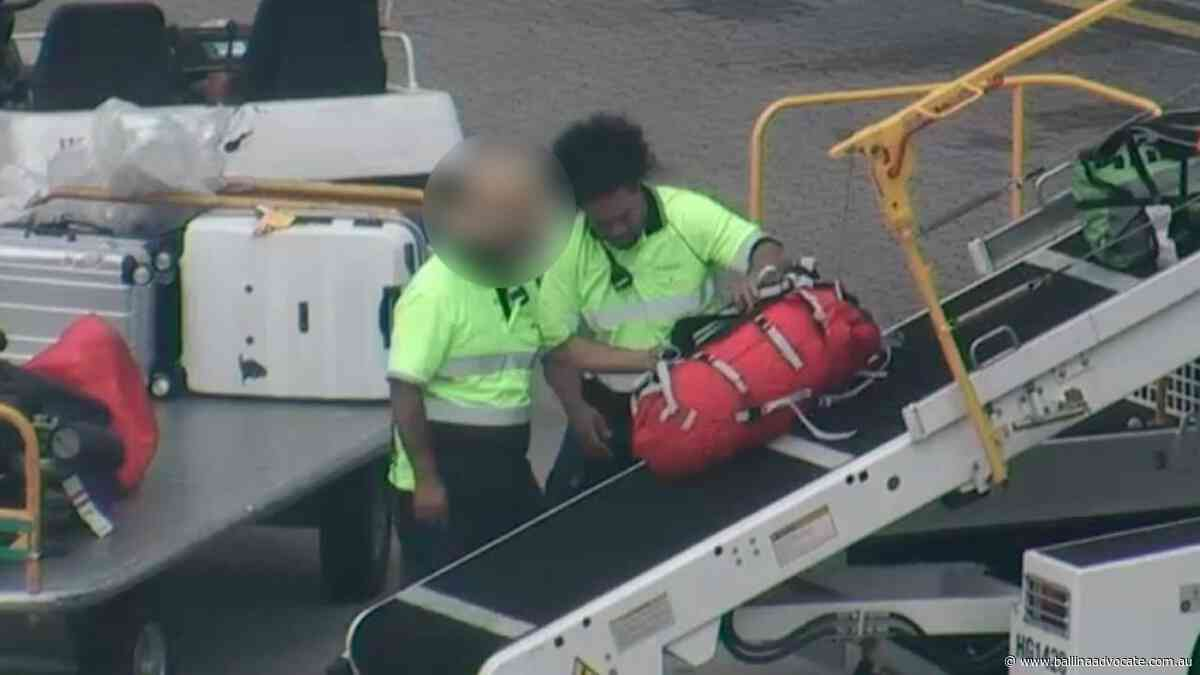 How cops took down baggage handler in $10m drug sting - Ballina Shire Advocate