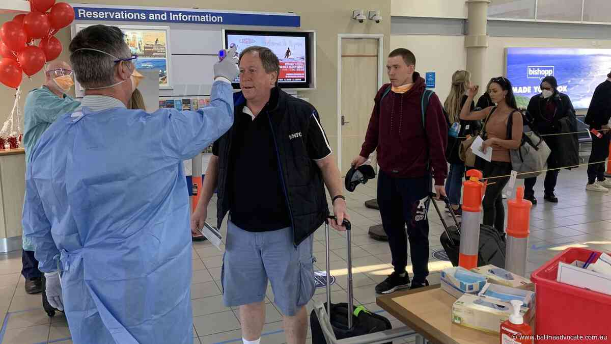 Final flights from Melbourne expected to land today - Ballina Shire Advocate
