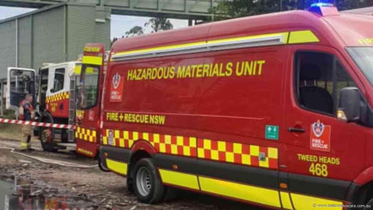 Fire crews respond to blaze at sugar mill's stockpile - Ballina Shire Advocate