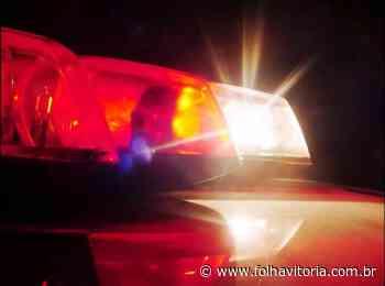 Adolescente é baleado após furar blitz na Serra - Folha Vitória